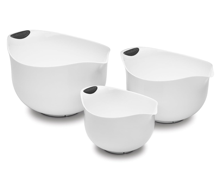 Cuisinart CTG-00-3MBW Set of 3 BPA-free Mixing Bowls, White