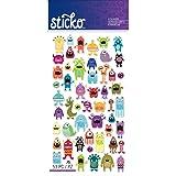 Sticko Classic Mini Monsters Stickers