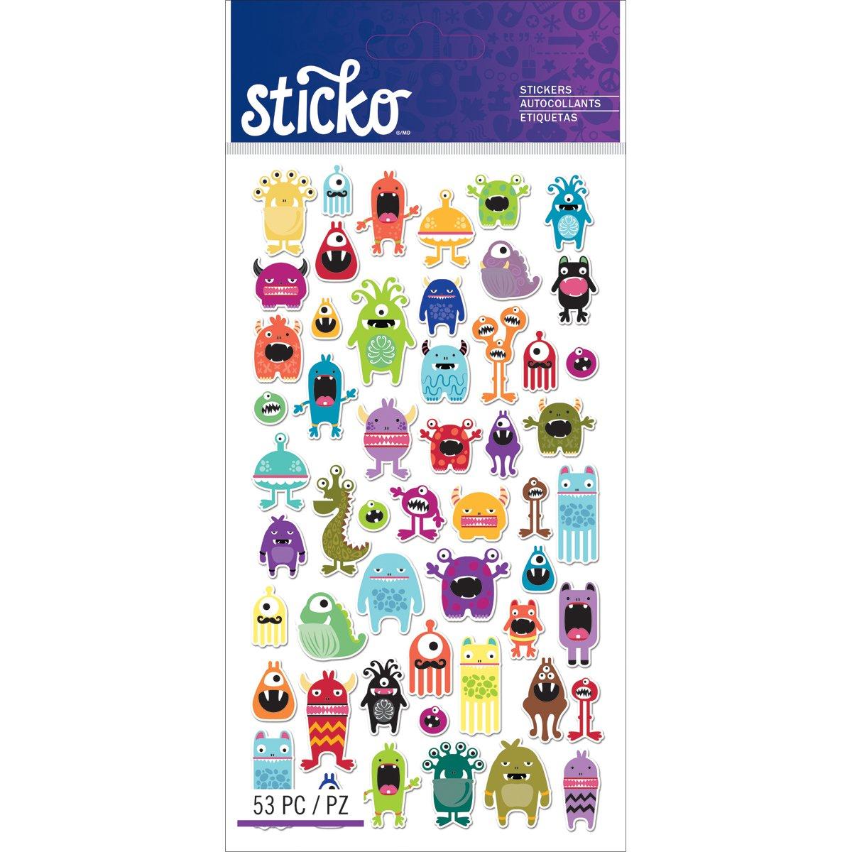 Sticko Classic Mini Monstruos Pegatinas
