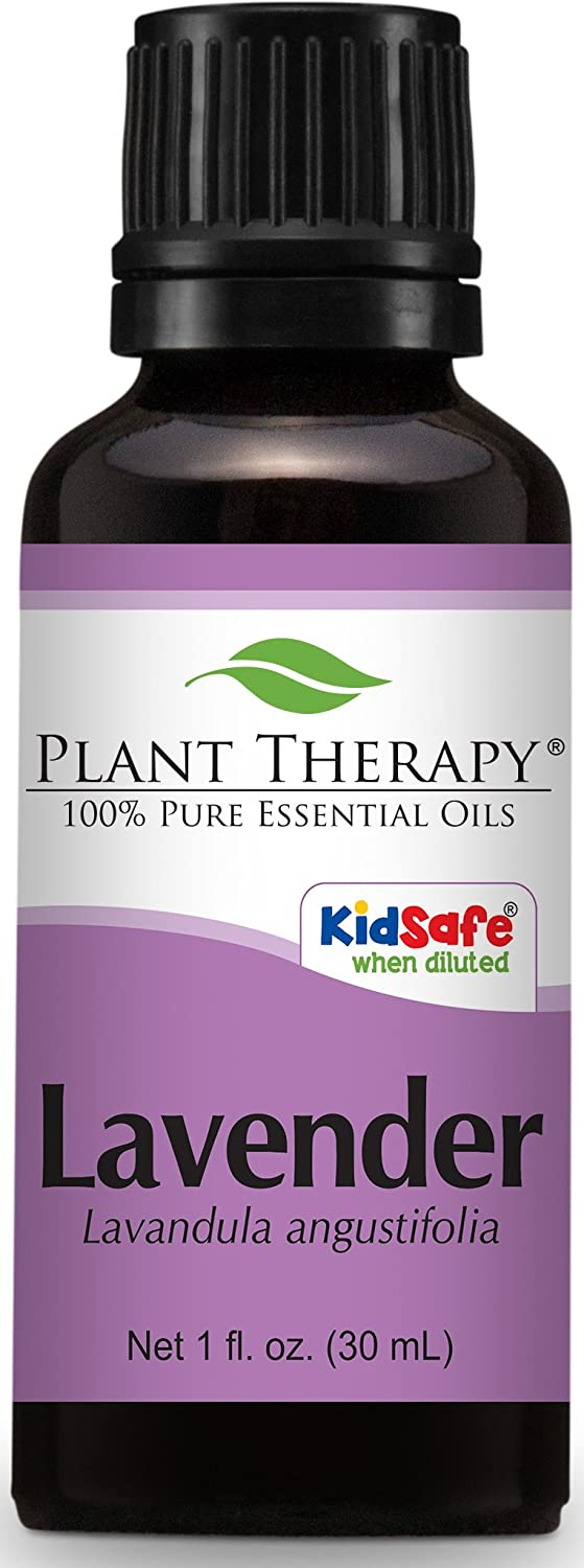 Plant Therapy Lavender Essential Oil. 100% Pure, Undiluted, Therapeutic Grade. 30 ml (1 oz).