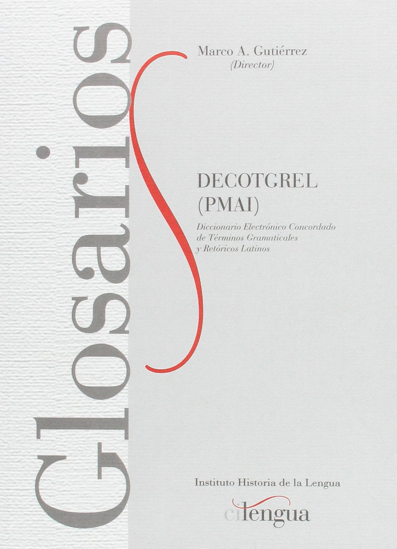 Decotgrel PMAI : Diccionario electrónico concordado de términos ...