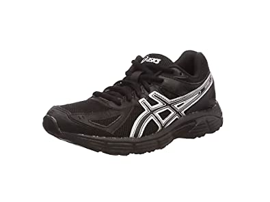 asics running shoes black