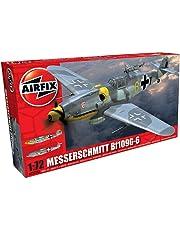 Airfix Messerschmitt Bf109G-6 1:72 Scale Airplane Plastic Model Kit A02029A