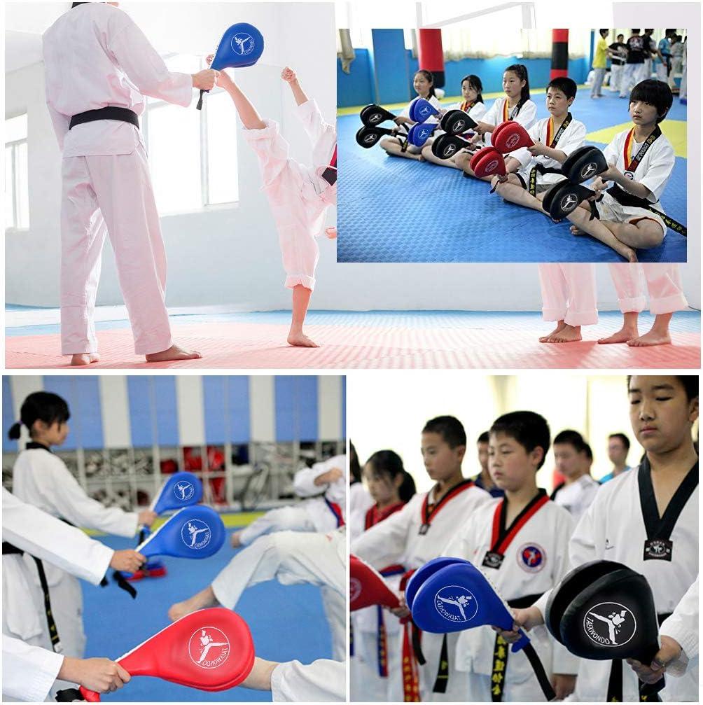 Hipiwe Taekwondo Kick Pad Target Durable TKD Kicking Targets Training Paddles Double Face Tae Kwon Pads