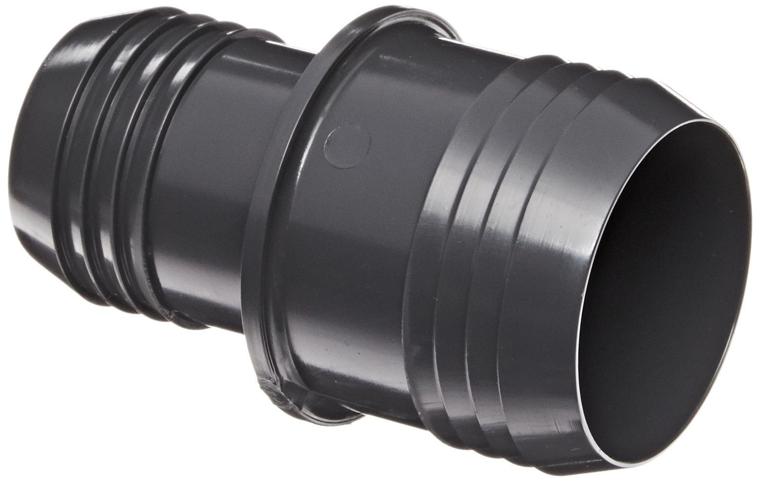 Spears 1429 Series PVC Tube Fitting, Coupling, Schedule 40, Gray, 3/4'' x 1/2'' Barbed