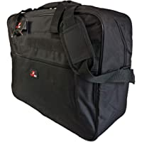 Roamlite Cabin Hand Baggage Size Holdall Bag - Exact Ryanair and Easyjet COMPLIANT Carry On Bags - Hand Luggage 50cm Travel Holdalls in 3 Colours - 50cm x 40cm x 20cm Lightweight 0.6kg - RL56M