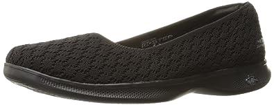 Skechers Performance Women's Go Step Lite-Wander Walking Shoe,Black,5 ...