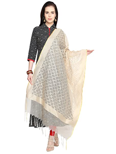 Dupatta Bazaar Women's Dupatta Women's Chunnis & Dupattas at amazon