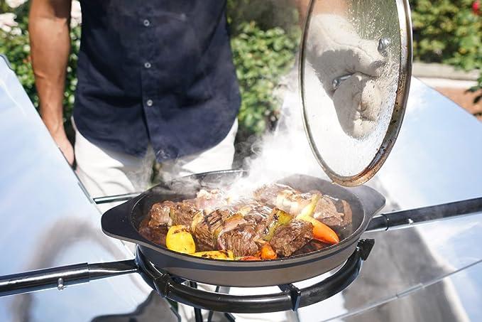 SolSource Parrilla/horno Solar Cooking Classic cocinar y asar al aire libre | Diseños de One Earth: Amazon.es: Hogar