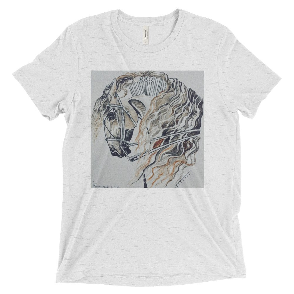 Short sleeve t-shirt-Stallion