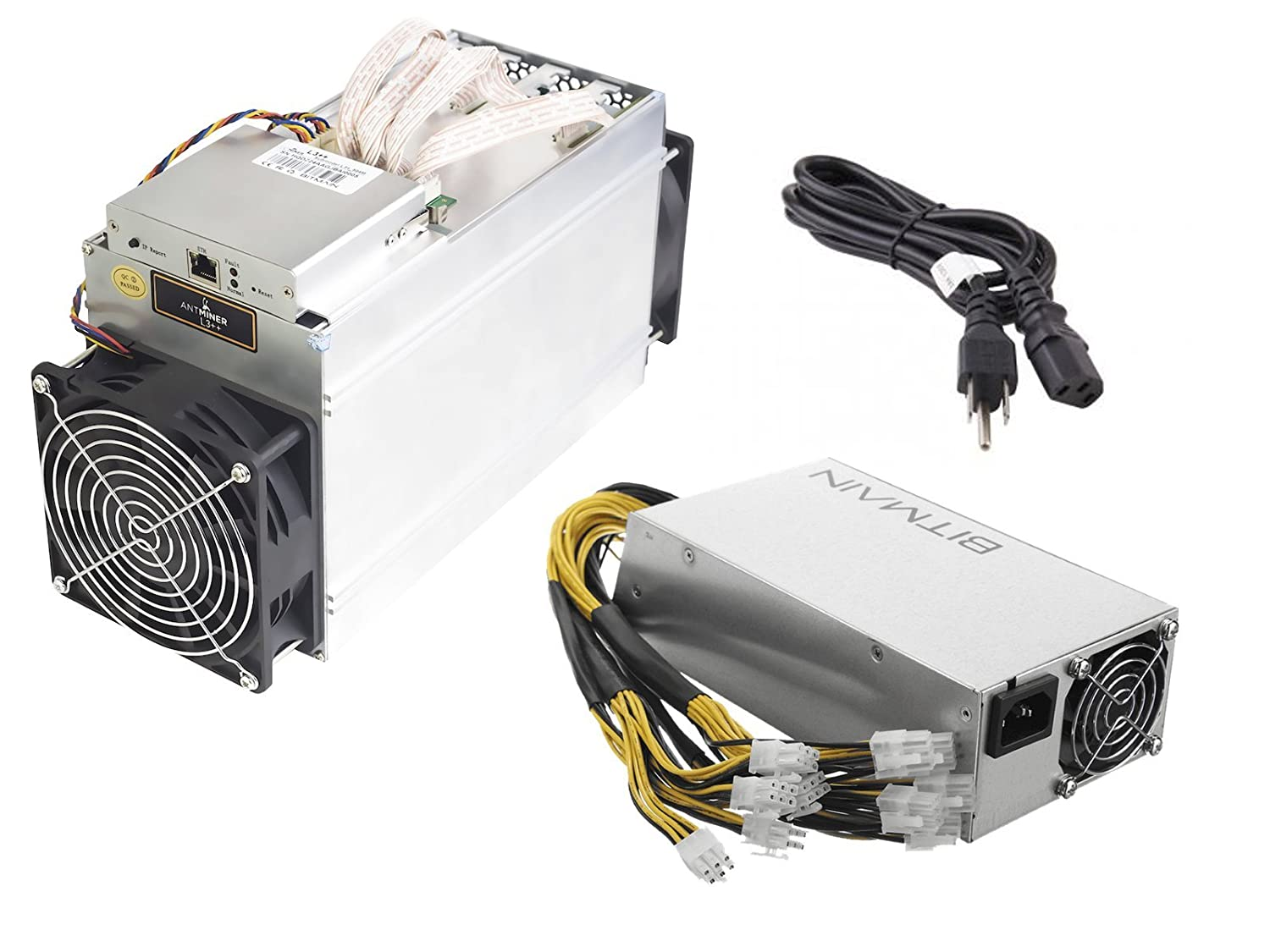 Bitmain Antminer L3 For Sale For Us Dollars Antminer Airflow Noise