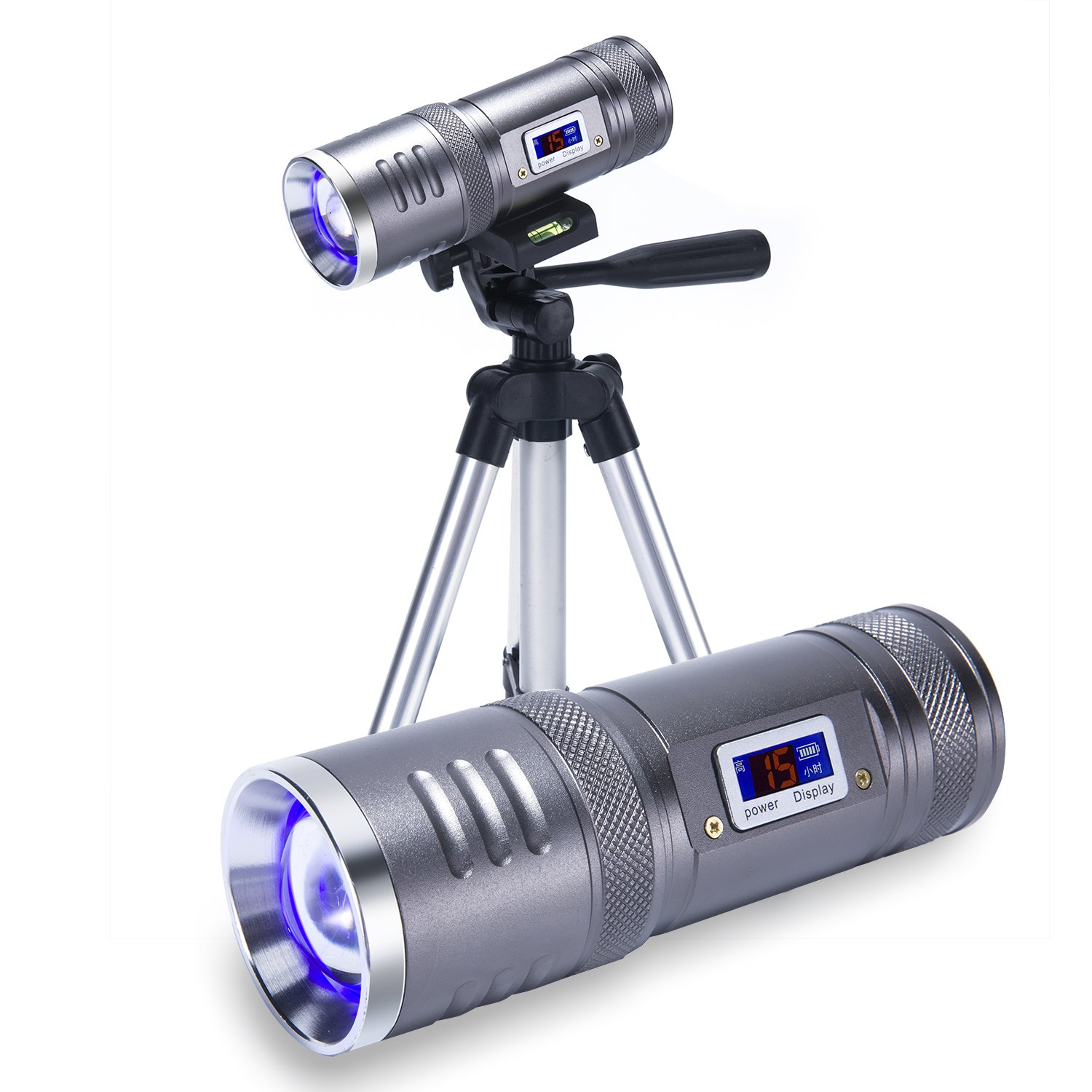 AustraLoid LED Rechargeable Spotlight with 4 Light Model -Can be Used 60 Hours with Fully Charged,and Easy to Carry