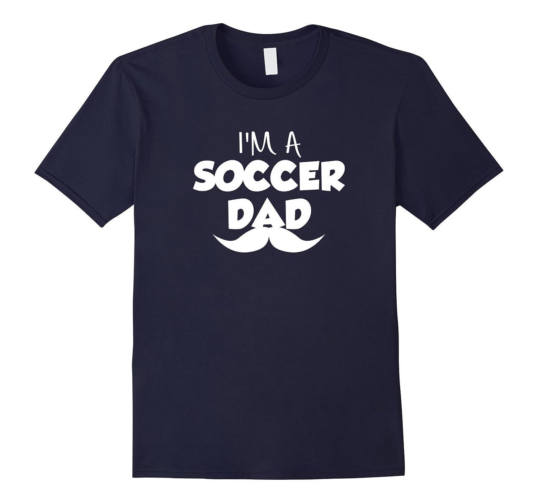 Soccer T Shirt.Im A Soccer Dad T Shirt-BN