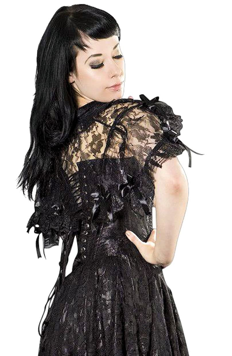 Steampunk Vests and Wraps Steampunk Bolero Shrug $39.99 AT vintagedancer.com