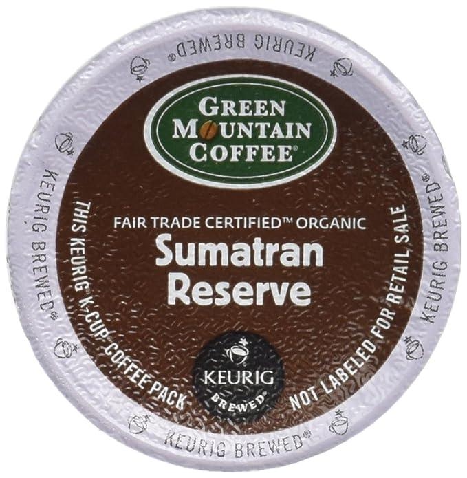 Amazon.com: Green Mountain – Sumatran Reserva de café 18 ct ...