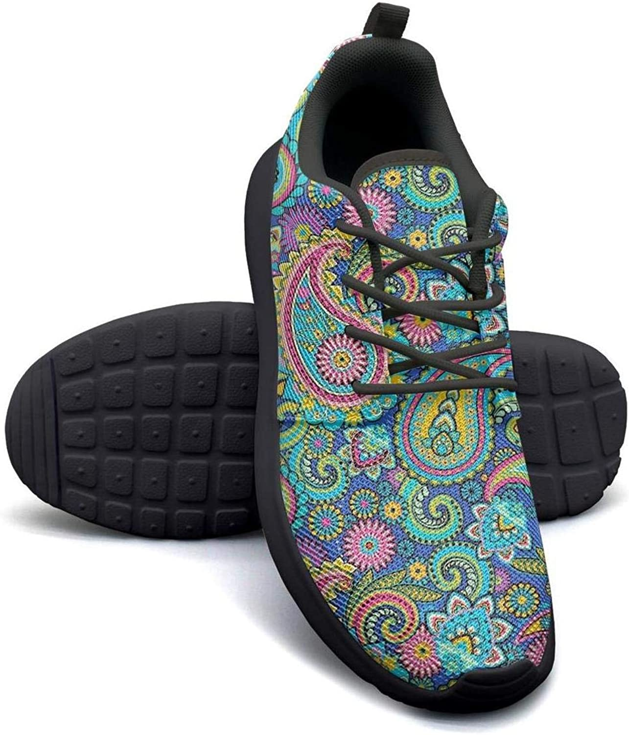 Paisley Seamless Stitching Pattern Women Canvas Casual Shoes Sneakers Low Help Sneakers