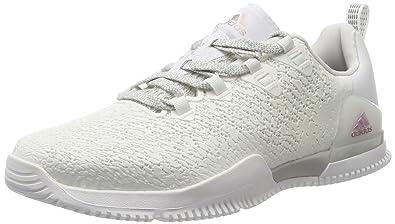 adidas Crazypower TR W, Chaussures de Gymnastique Femme, Multicolore (FTWR White/Grey Two F17/Core Black), 37 1/3 EU