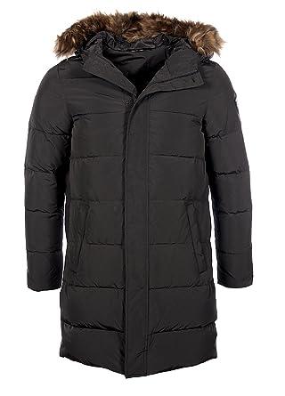 EA7 - Armani Premium - Doudoune longue noire homme 6XPK01 PN03Z ... 5cc0e9d192e
