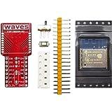 waves ESP8266 WiFiモジュール(技適取得済み) ESP-WROOM-02 キット 赤基盤
