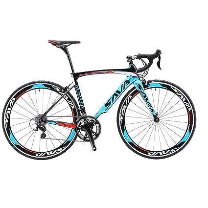Amazon.com : SAVADECK Carbon Road Bike, Warwinds4.0 700C Carbon ...