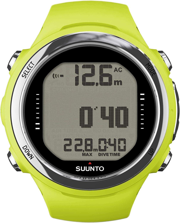 Suunto Dive D4I - Reloj Deportivo Unisex para Adulto (Talla única), Color Verde Lima