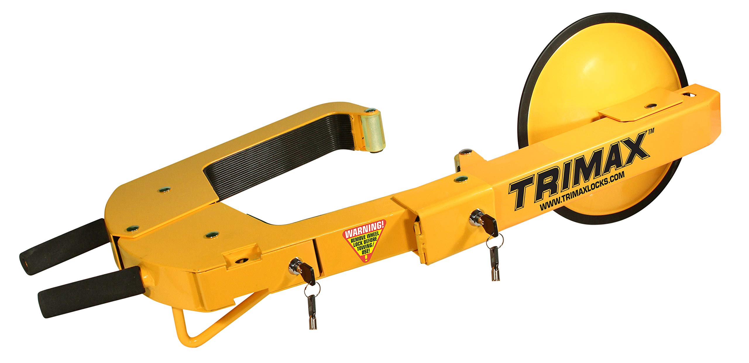 Trimax TWL400 Yellow Wheel Lock by Trimax