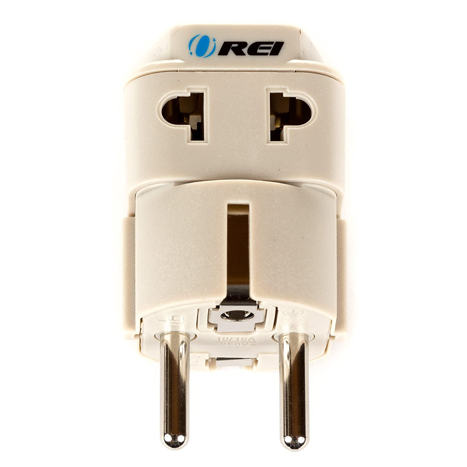 Orei European Plug Adapter Schuko Type E F For Germany Wiring Regulations Allow You To Convert Any Socket On The Circuit France Europe Russia Grounded 2 In 1 Home Audio Theater
