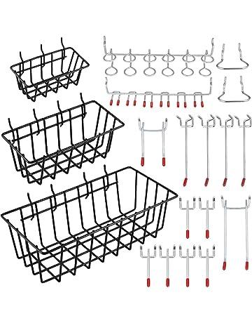 Boîte de 24-25 mm x 150 mm Simple Panneau Perforé Display Cintre Crochet