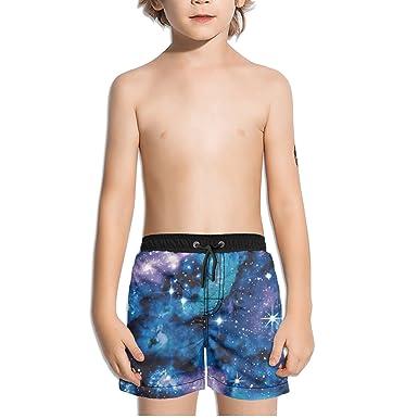 c501423295 Amazon.com: Ouxioaz Boys' Swim Trunk Galaxy Abstract Beach Board Shorts:  Clothing