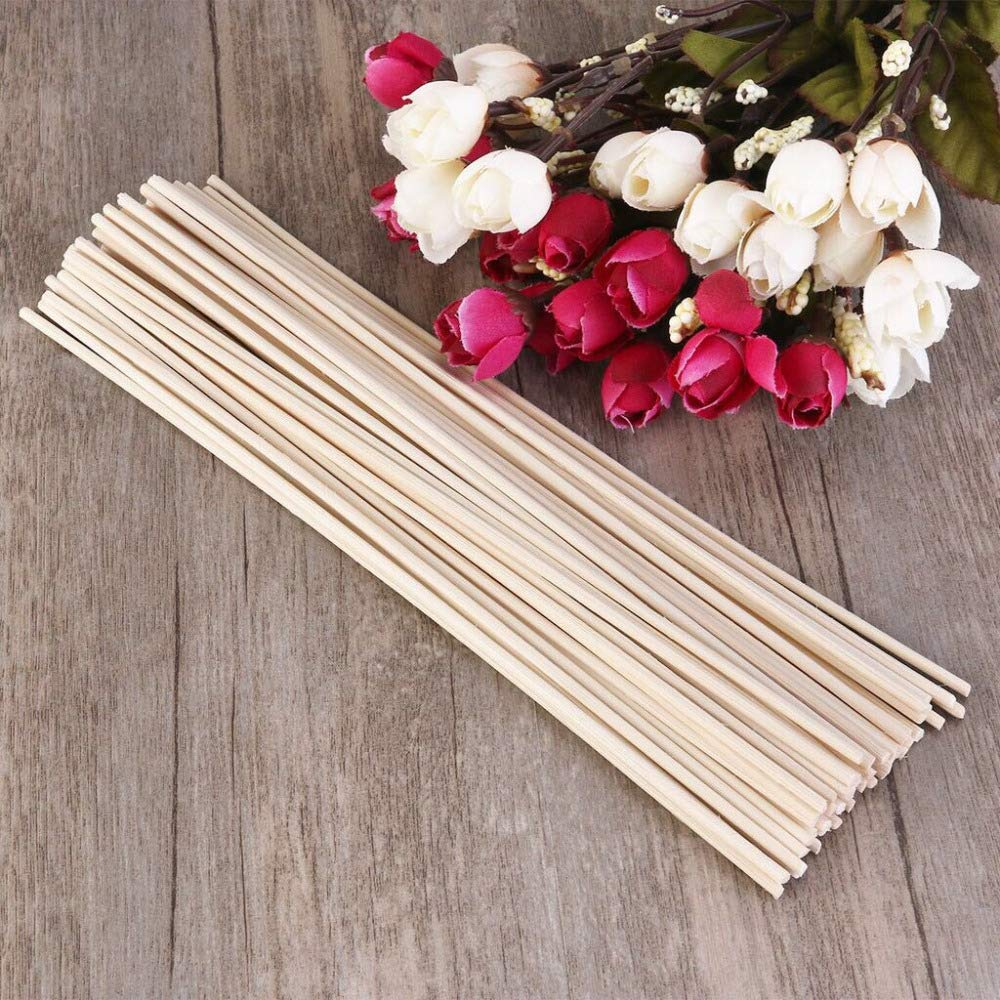 Yummi697 500Pcs/Lot Rattan Replacement Sticks 30Cmx3Mm Reed Diffuser Refill Aromatic for Fragrance by Yummi697