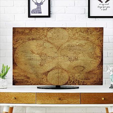 prunus Proteger su TV Invierno Fondo de Nieve. Proteja su TV W19 x H30 Pulgadas/TV 32 Pulgadas: Amazon.es: Hogar