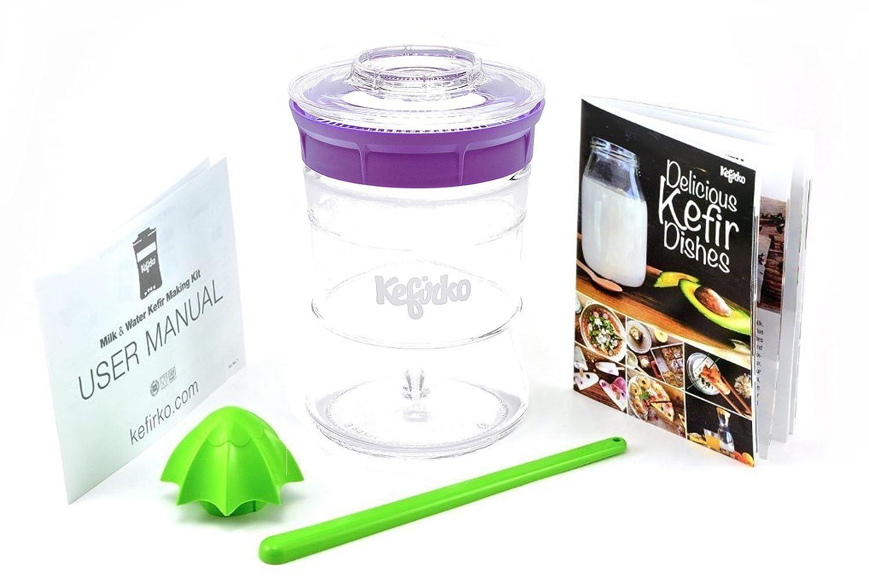 KEFIRKO - Homemade milk and water kefir system, as seen on Kickstarter COMINHKPR148778