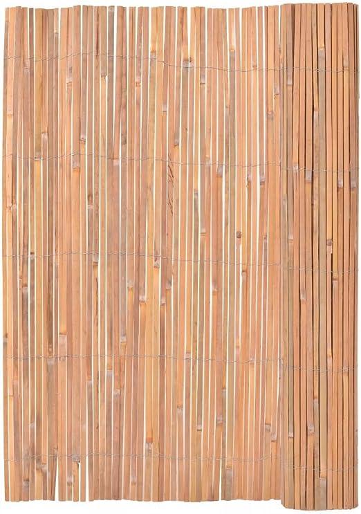 Roderick Irving Valla de bambú 200 x 400 cm Kit Vallas jardín Plantas: Amazon.es: Jardín