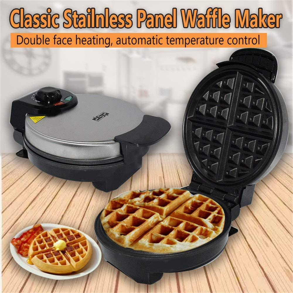 Crepe Maker Maker Machine Stainless Steel Mould Non-Stick Coating Adjustable Temperature Control 850W Electric Non-Stick (Color : A, Size : 25x22x11.5cm) by DEPRQ