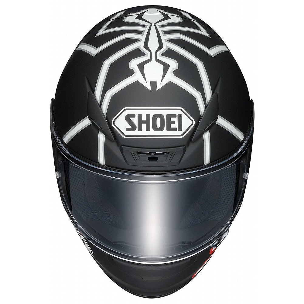 Amazon.com: Shoei Marquez Black Ant RF-1200 Sports Bike Racing Motorcycle Helmet - TC-5 / Medium: Automotive