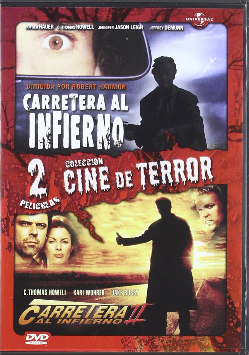 Pack Duo: Carretera Al Infierno 1 + 2 [DVD]: Amazon.es: Howell, C. Thomas, Hauer, Rutger, Harmon, Robert, Harmon, Robert, Howell, C. Thomas, Hauer, Rutger, Bombyk, David, Bombyk, David: Cine y Series TV