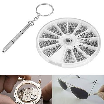 Amazon.com: Tornillos para gafas de sol, Asixx 600 piezas ...