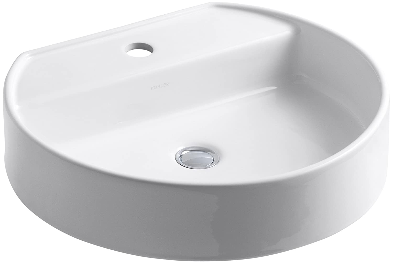 Kohler K 2331 1 0 Chord Wading Pool Bathroom Sink White Vessel Sinks Amazon Com