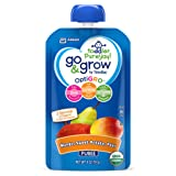 Amazon Price History for:Go & Grow by Similac Fruit and Veggie Pouches with OptiGRO,  Mango, Sweet Potato, Pear Puree, For Toddlers, Organic Baby Food, 4 ounces, Pack of 12