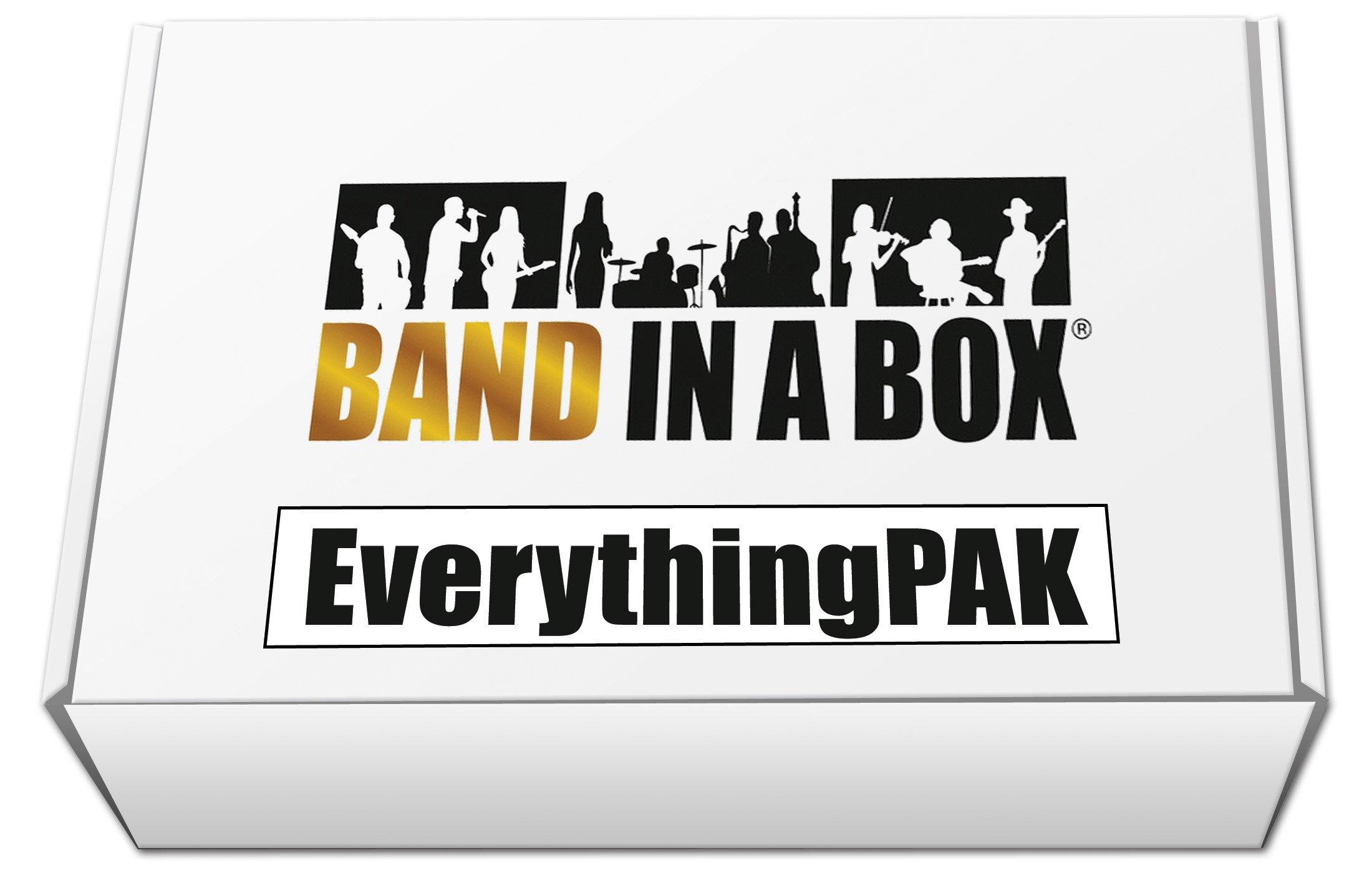 Band-in-a-Box 2017 EverythingPAK [Old Version, Mac USB Hard Drive]