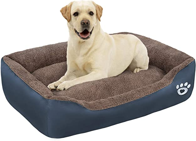 Amazon Com Tr Pet Large Dog Beds Xl Xxl Xxxl With Removable Cover X Large Pets Bed For Small Medium Large Size Dog Breeds Warm Plush Couch Bed Anti Slip Bottom