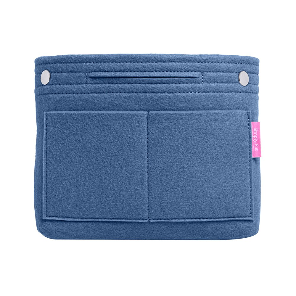 Simply Put Goods Unisex-Adult Premium Handbag Organizer for Purse and Travel Bag, Medium, Blue