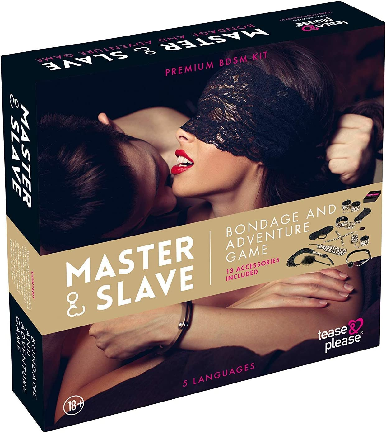 TEASE AND PLEASE Master & Slave - Sexy Spiele