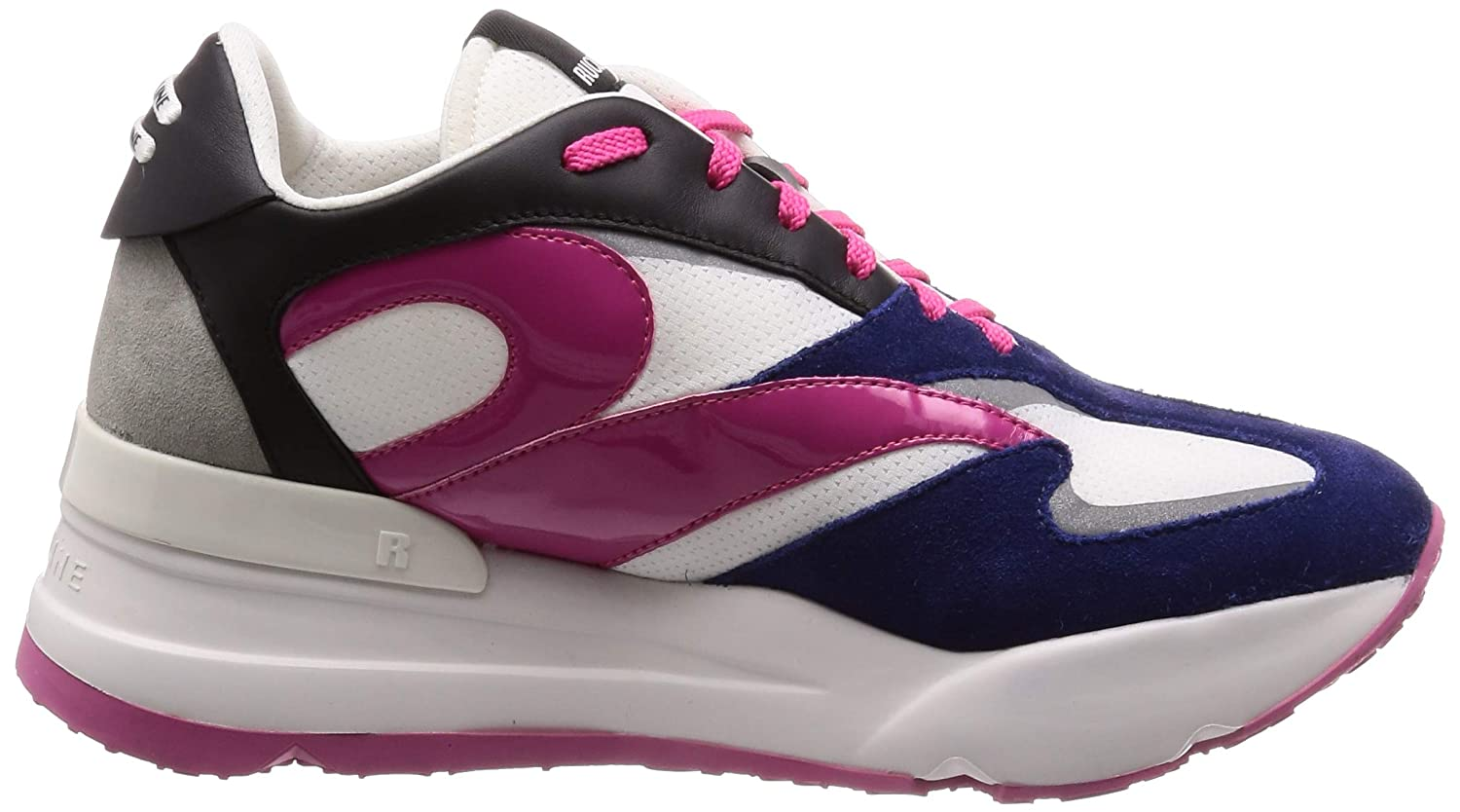 rucoline Womens Shoes 4035 at 1035 Fantasy Fuchsia Sneakers SS 2019