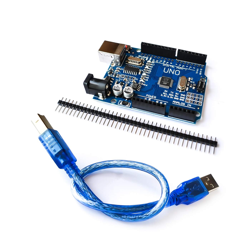 UNO MEGA328P CH340G Xia Fly 5set//lot UNO R3 UNO Board with USB Cable Compatible