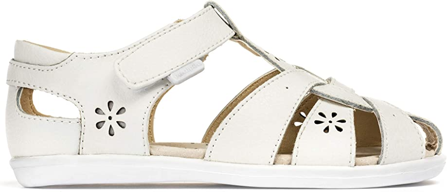 Pediped Flex Nikki V Closed Toe Leather Sandals Size 24-30 US Toddler 8-13