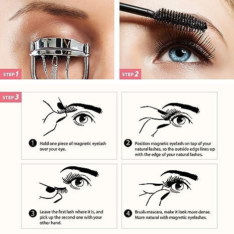 Juego de brochas para maquillaje con caja - 6 brochas de calidad premium que funcionan con todas las marcas de cosméticos - Suaves en la piel y no corre el ...