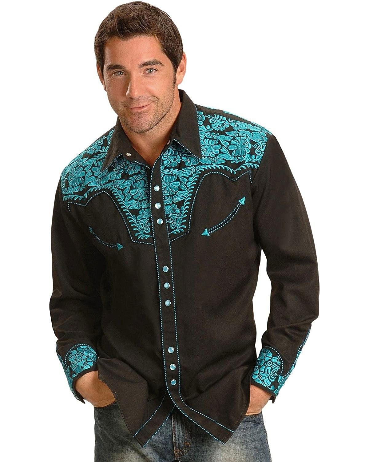 3ddf43efae Top 10 wholesale Scully Embroidered Western Shirts - Chinabrands.com