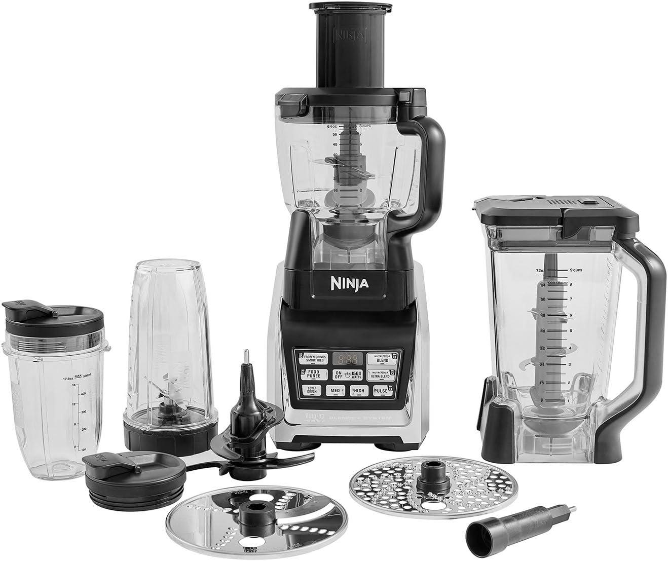 Ninja BL682EU2 Procesador de Alimentos, Auto-Iq, 1500 W, Plastic ...