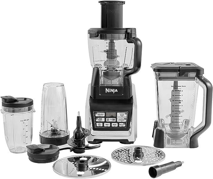 Ninja [BL682EU2] Robot de cocina, 1500 W, Auto-iQ, negro: Amazon.es: Hogar